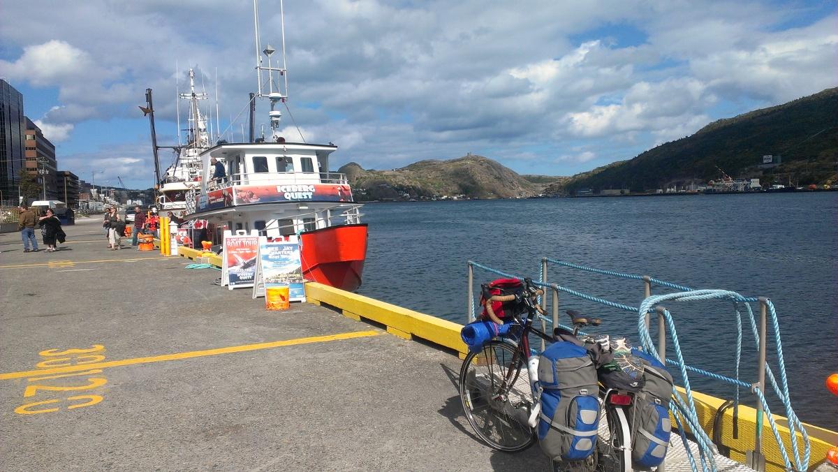 St. John's harbour Newfoundland - I made it!