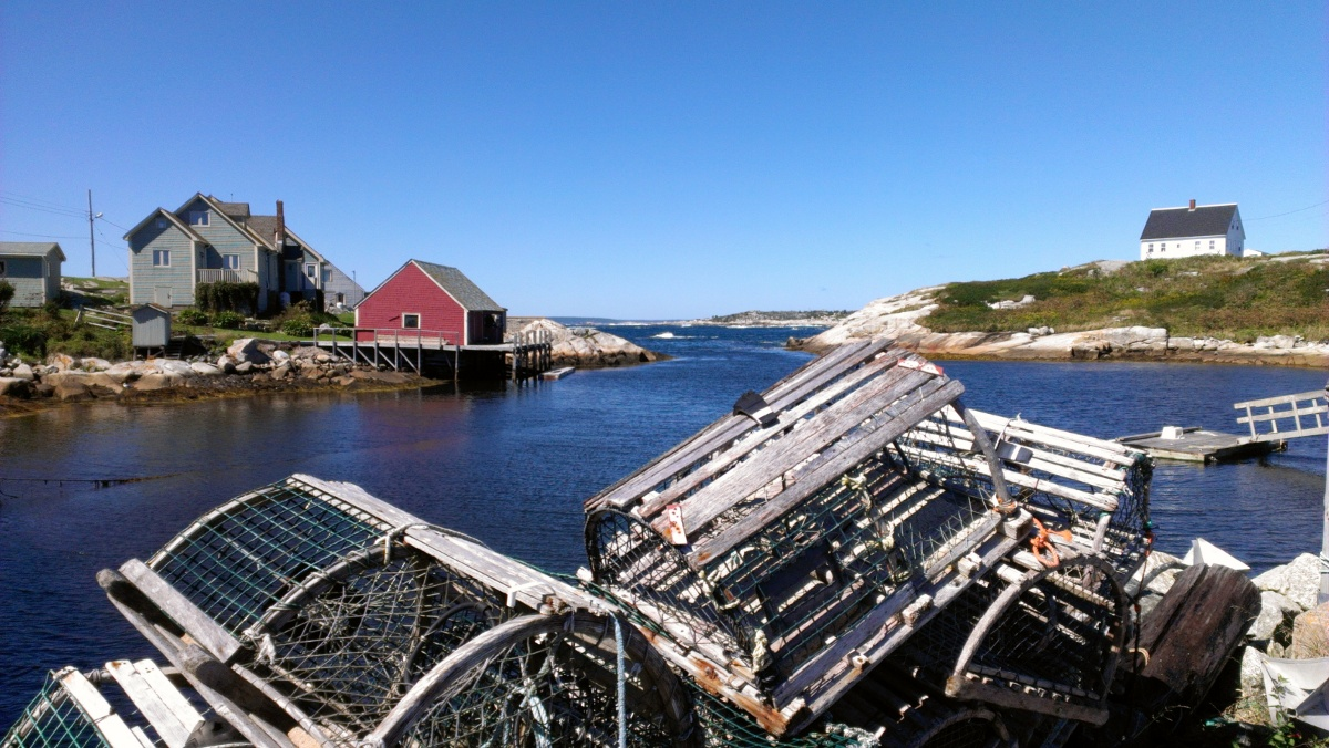 Peggy's Cove harbour, what a gem!